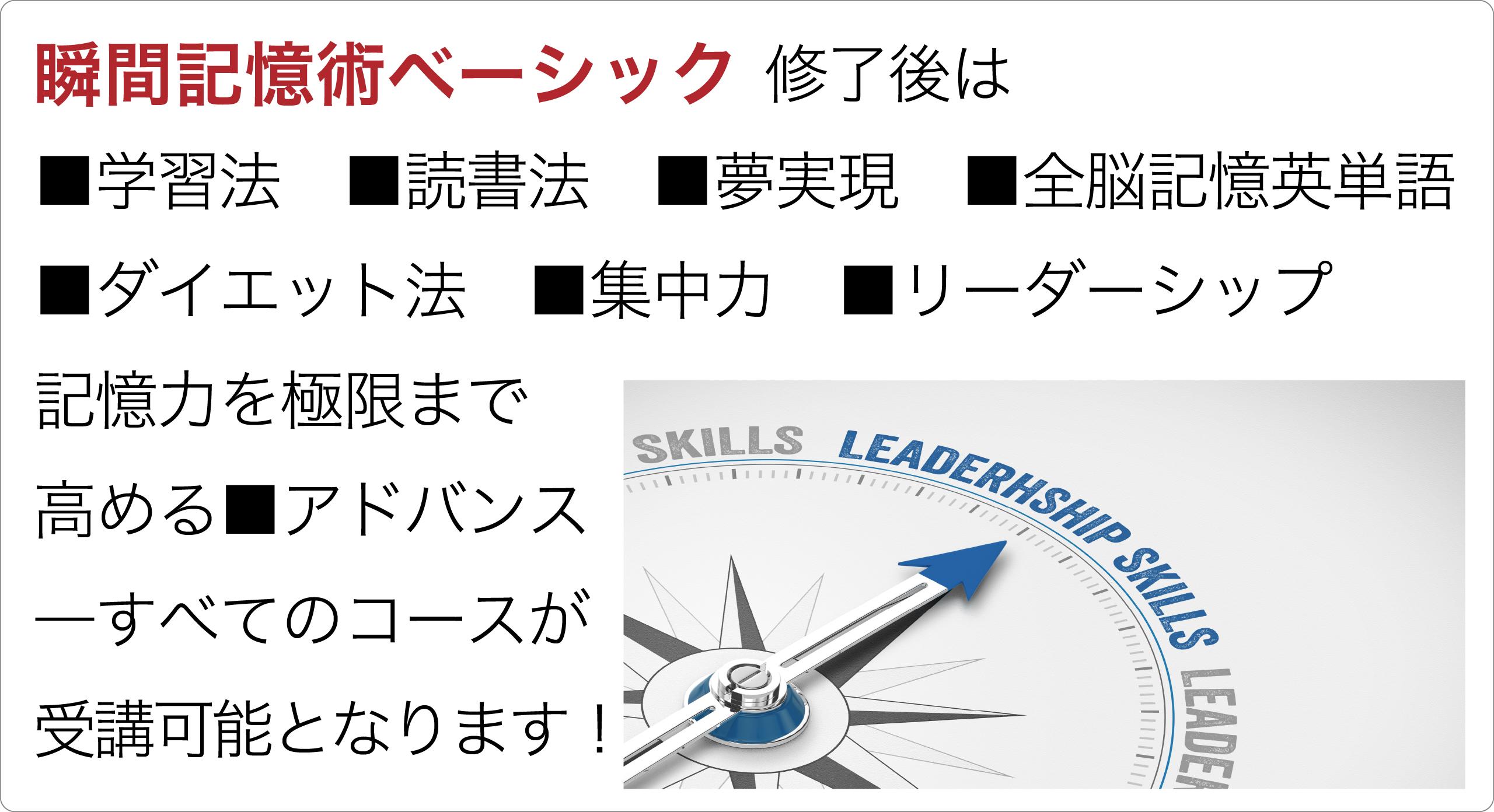 瞬間記憶術アドバンス・学習法・読書法